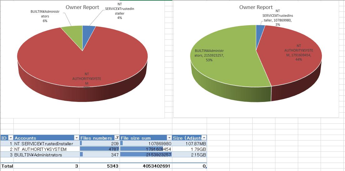 File Owner Report