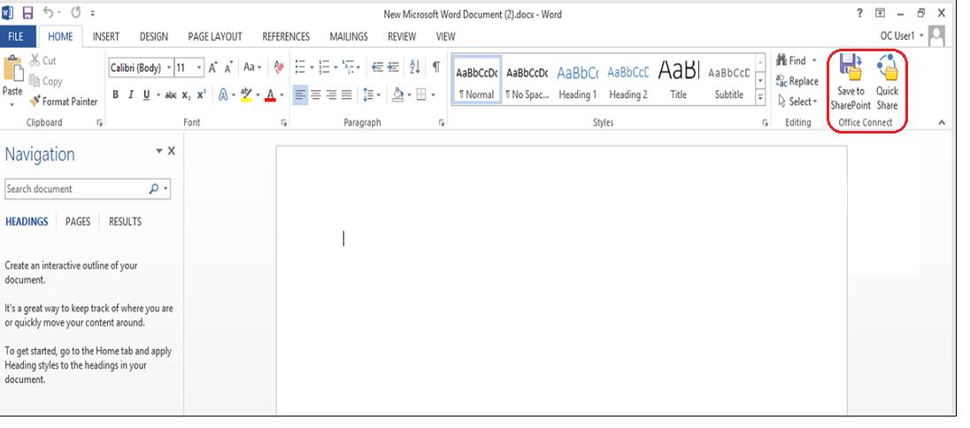 Office ワードから直接SharePoint へ文書格納‼