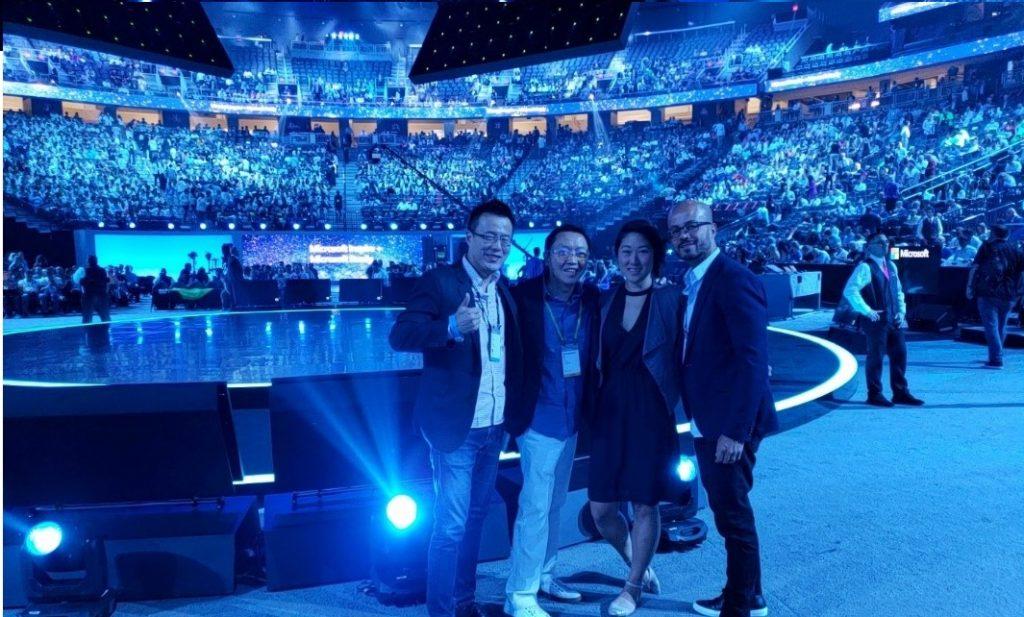 2018 Microsoft Inspire 会場にて