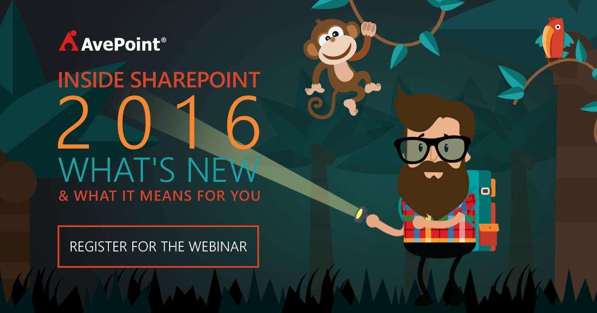 SharePoint 2016 Webinar