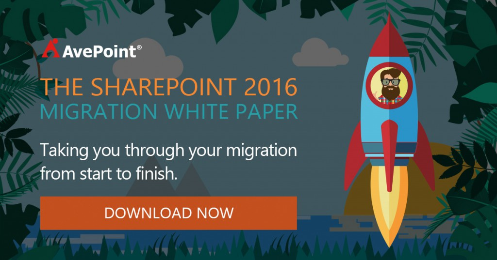 avepoint sharepoint 2016 migration white paper