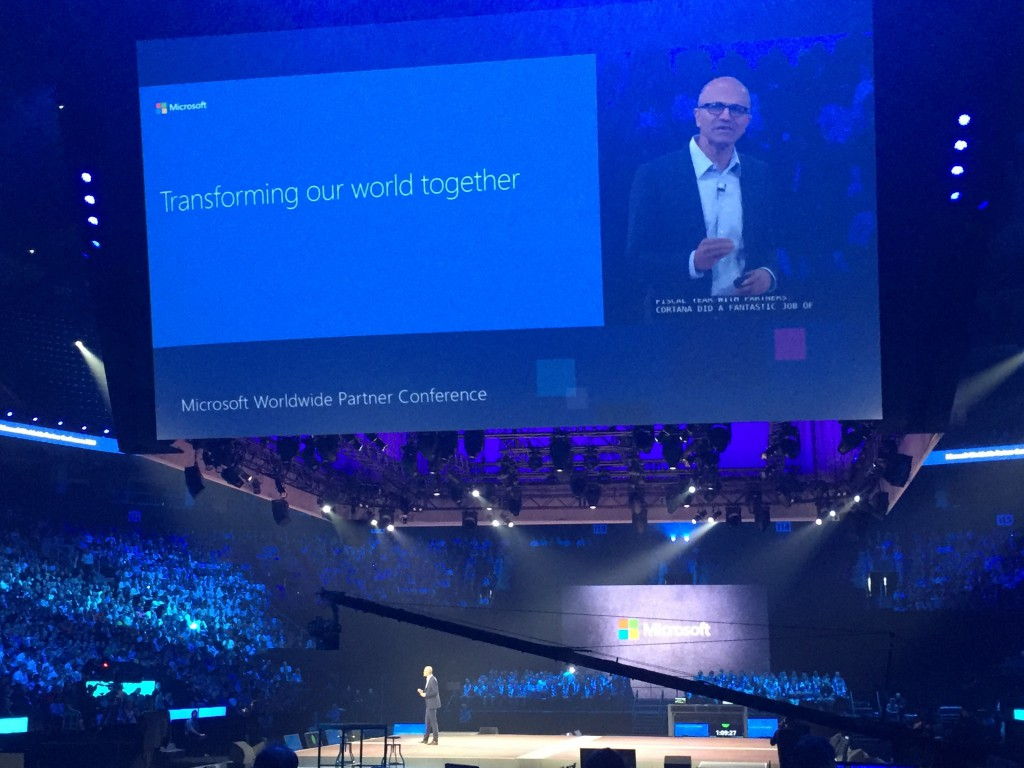 microsoft worldwide partner conference 2016 satya nadella keynote