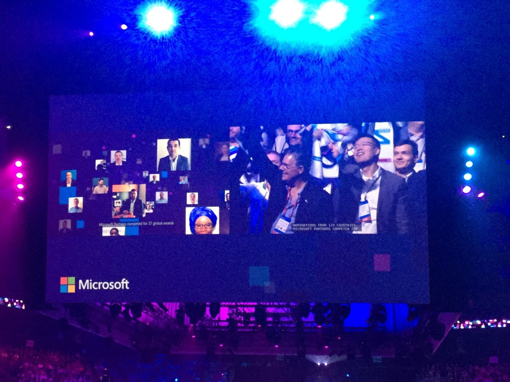 microsoft worldwide partner conference 2016 dr. tianyi tj jiang