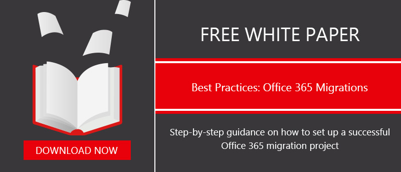 White Paper for Office 365 Migratio