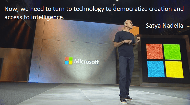 microsoft ignite keynote innovation