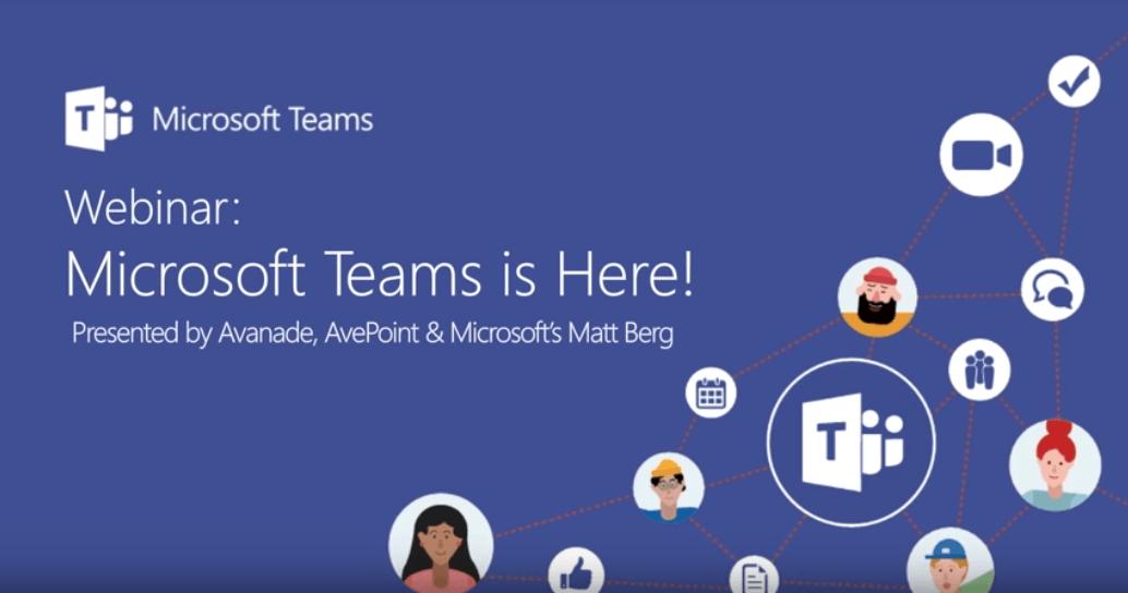 Microsoft Teams Webinar By Microsoft Avanade And Avepoint