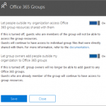 manage office 365 groups