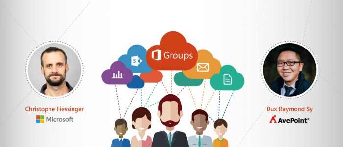 Office 365 Groups with Microsoft's Christophe Fiessinger & MVP Dux Raymond Sy