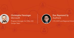 Top 5 Office 365 Groups Insights from Microsoft's Christophe Fiessinger