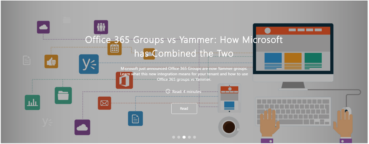 Office 365 groups and yammer integration blog avepoint blog - Yammer office 365 integration ...
