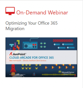 Optimizing your SharePoint 2007 migration to Office 365