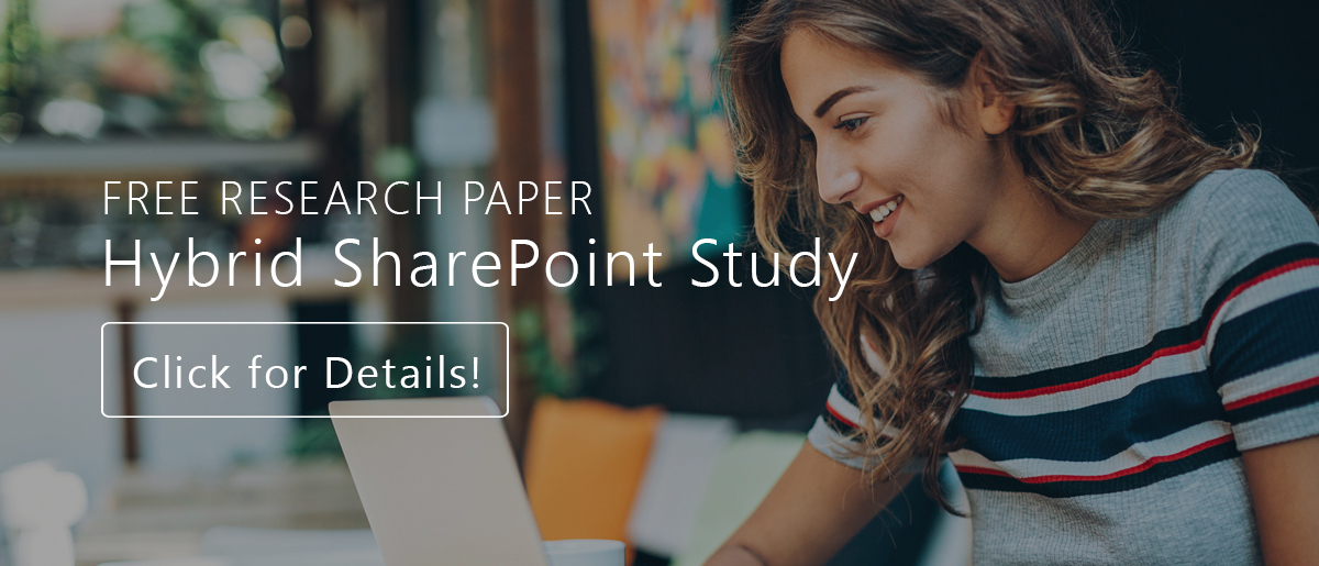 Hybrid SharePoint Study with Christian Buckley and Sue Hanley