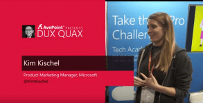 Dux Quax: Microsoft Tech Community, Channel 9 and More with Kim Kischel