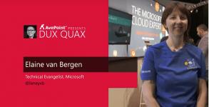 Dux Quax: Microsoft Graph with Elaine van Bergen