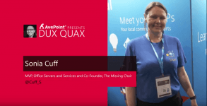 Dux Quax: All About the Microsoft MVP Program with Sonia Cuff