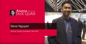 Dux Quax: Yammering about Yammer with Steve Nguyen
