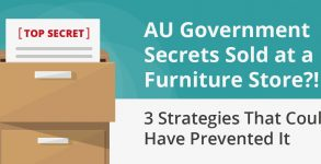 AU Government Secrets Sold At A Furniture Store?! 3 Strategies That Could Have Prevented It