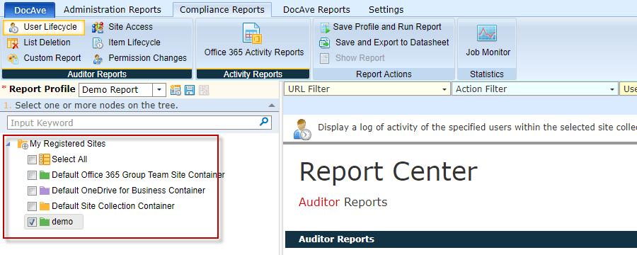 External User Activity