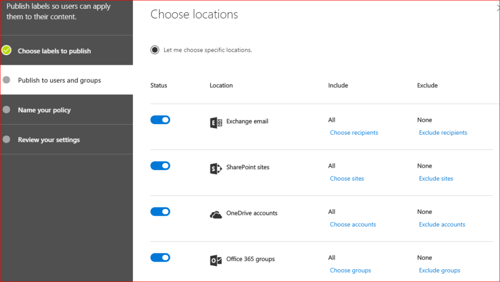Organizing Office 365: Retention Labels and Sensitivity