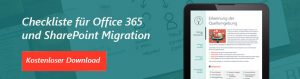 Office 365 Migration Checkliste