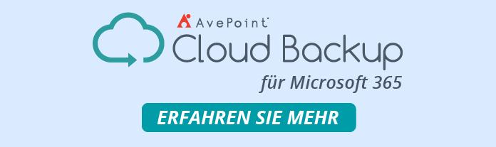 Cloud Backup M365