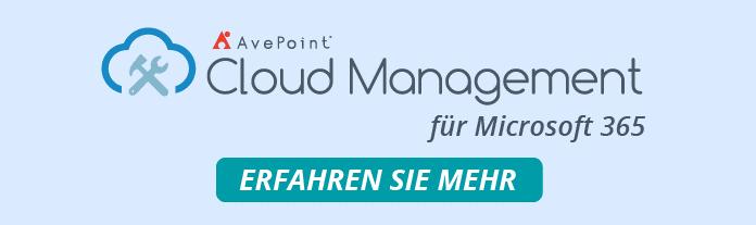 Cloud Management M365