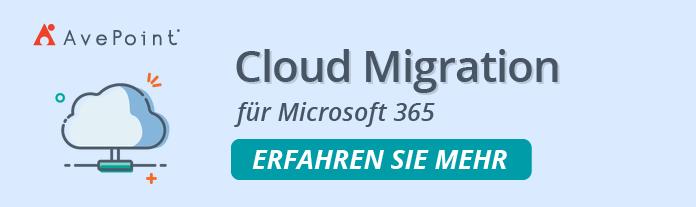Cloud Migration M365