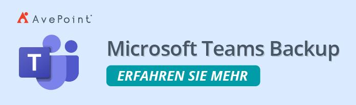 MS Teams Backup
